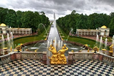 18171451 - peterhof palace, saint petersburg, russia